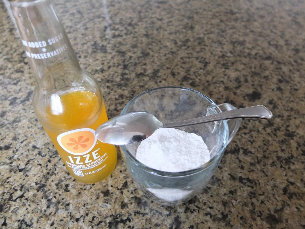 Orange Glaze ingredients for Sesame and Pecan Schnecken Rolls with Orange Glaze