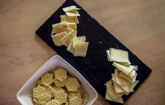 Gluten-Free Peppery Slate Cheeseboard