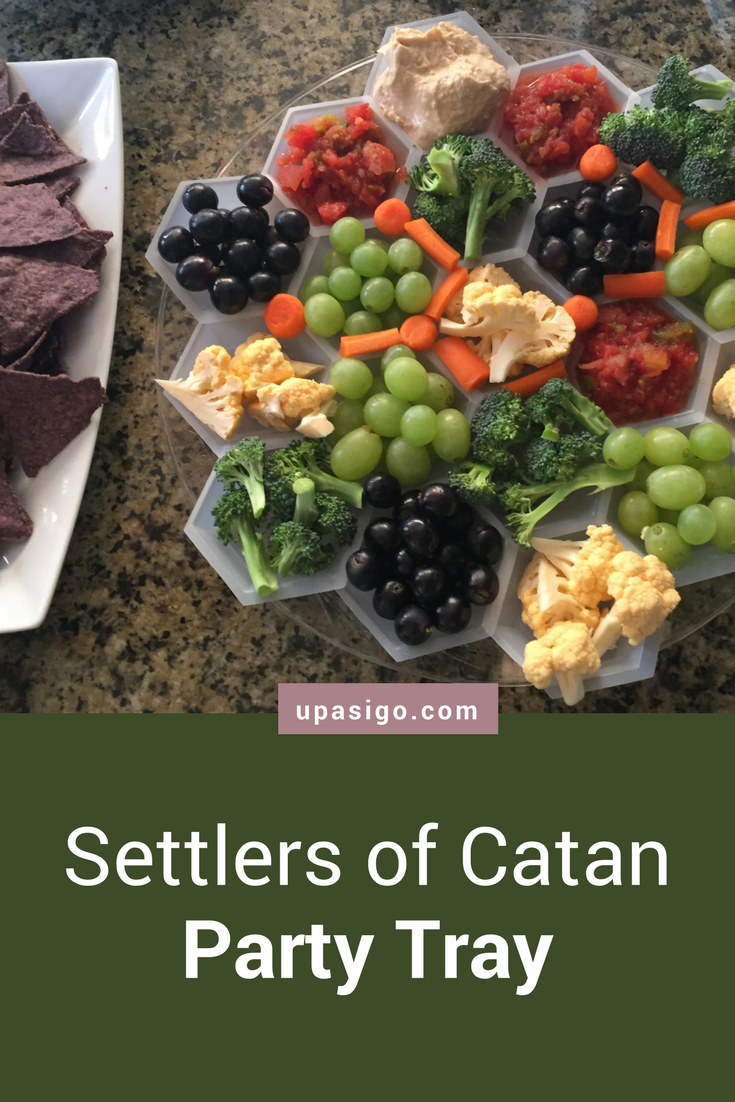 Settlers of Catan Party Tray