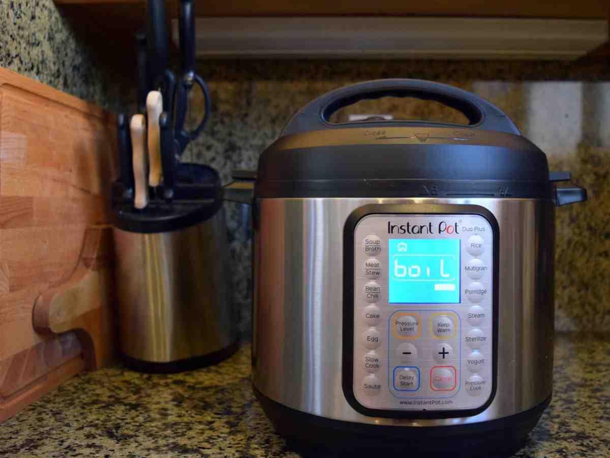 Instant Pot Boil Setting after clicking Yogurt button