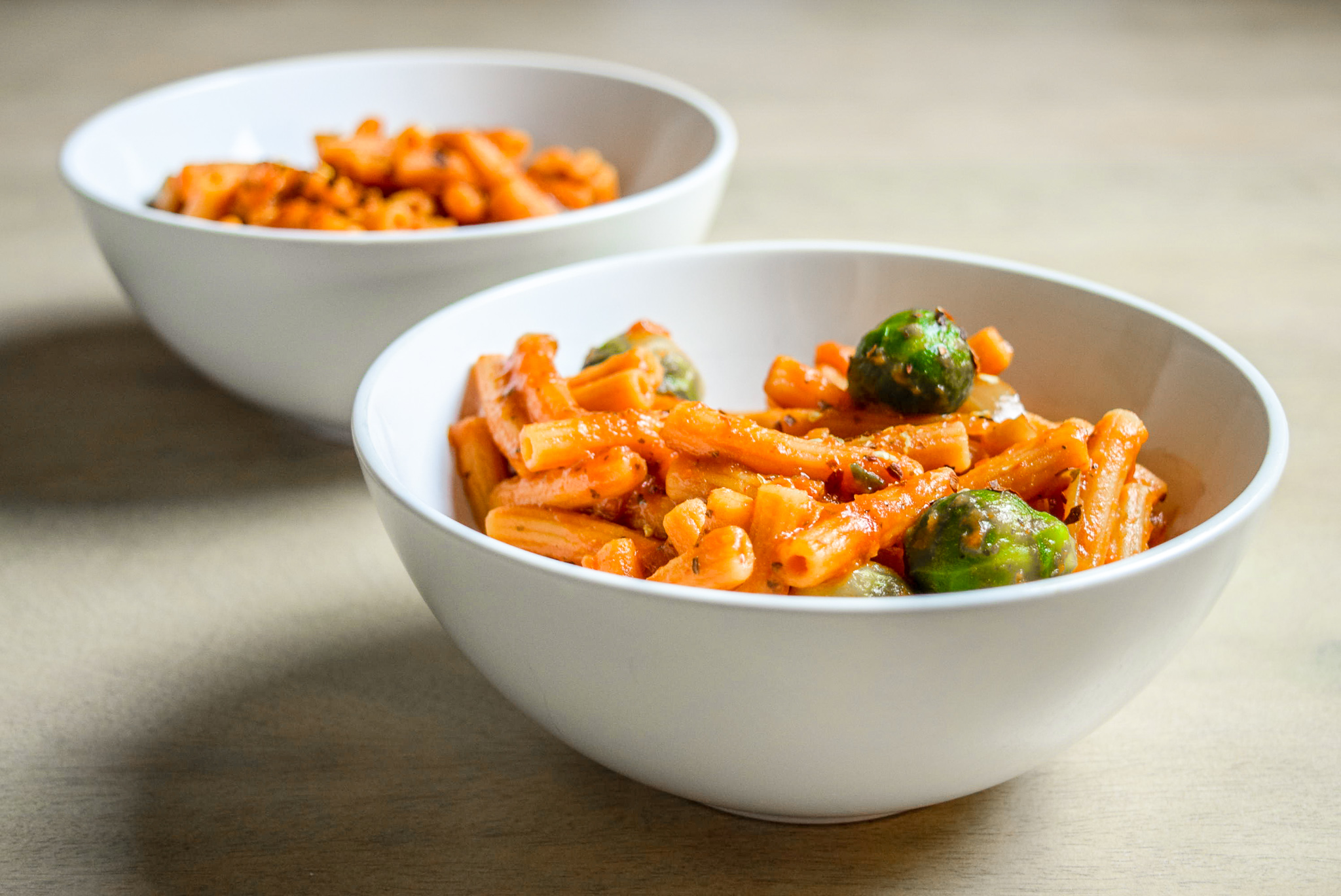 Protein-Packed Red Lentil Pasta with Marinara
