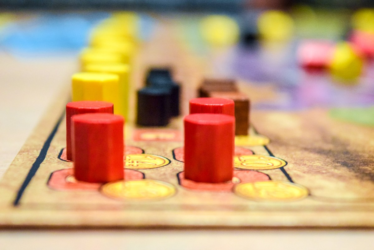 Resources for Power Grid Board Game up close