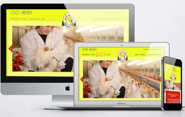 تصميم موقع شركة دواجن - شركة رأس الخيمة للدواجن والعلف