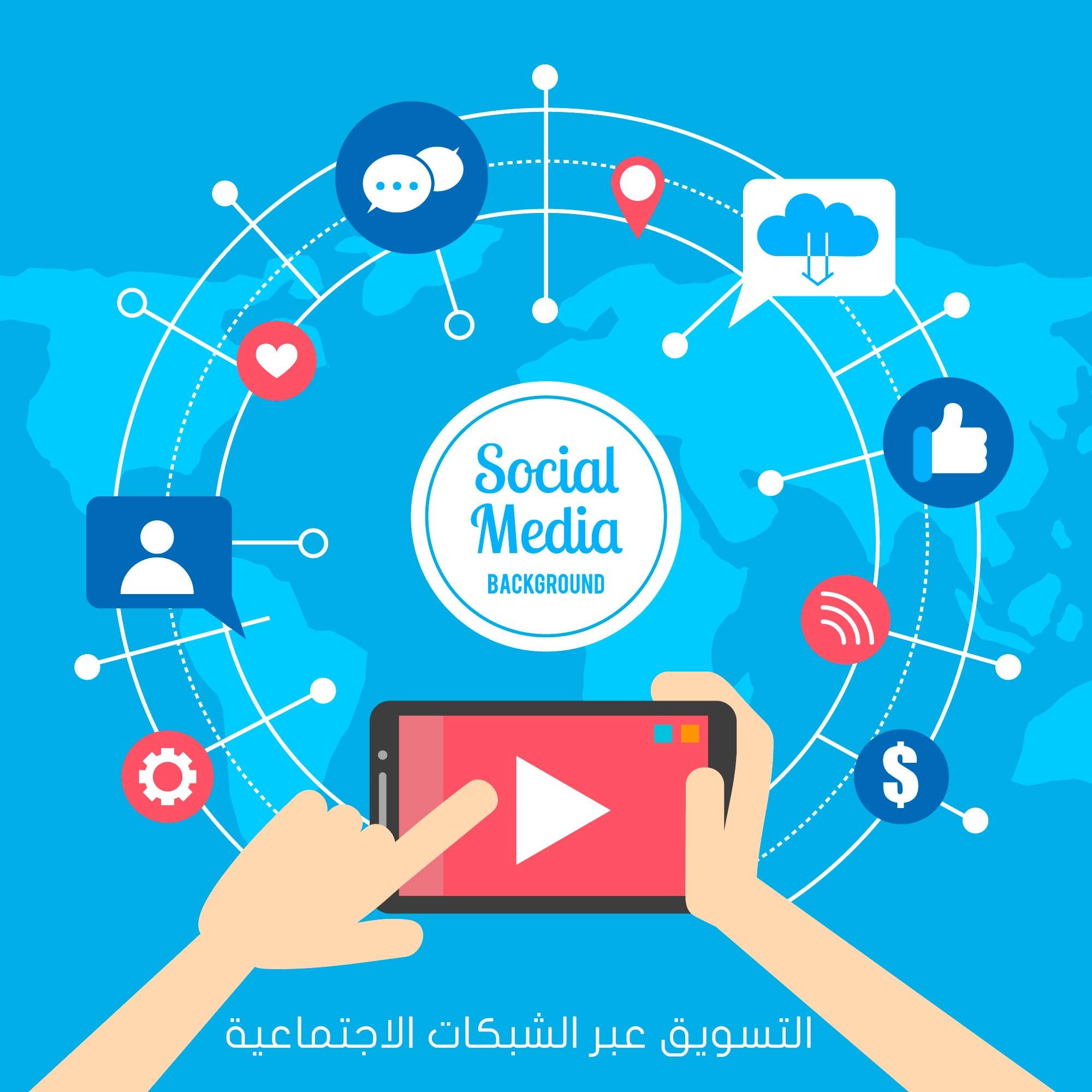 التسويق عبر الشبكات الاجتماعية