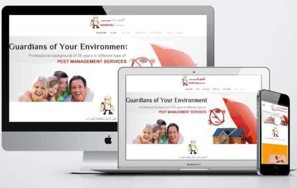 برمجة موقع مكافحة الحشرات - شركة الصياد