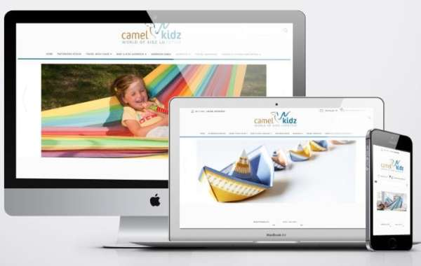 e-commerce website design - camel kidz