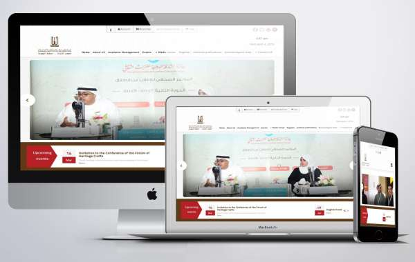 design website Cultural heritage Sharjah Heritage Institute