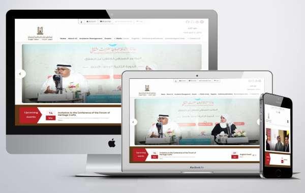 design website Cultural heritage Sharjah Heritage Institute