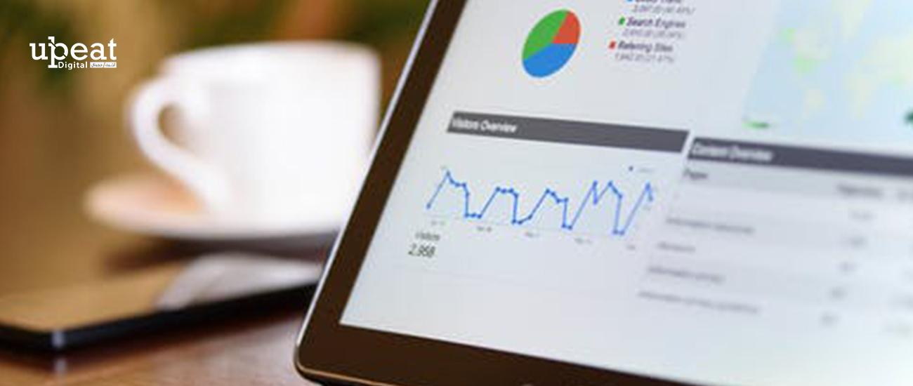البيانات في Google Analytics