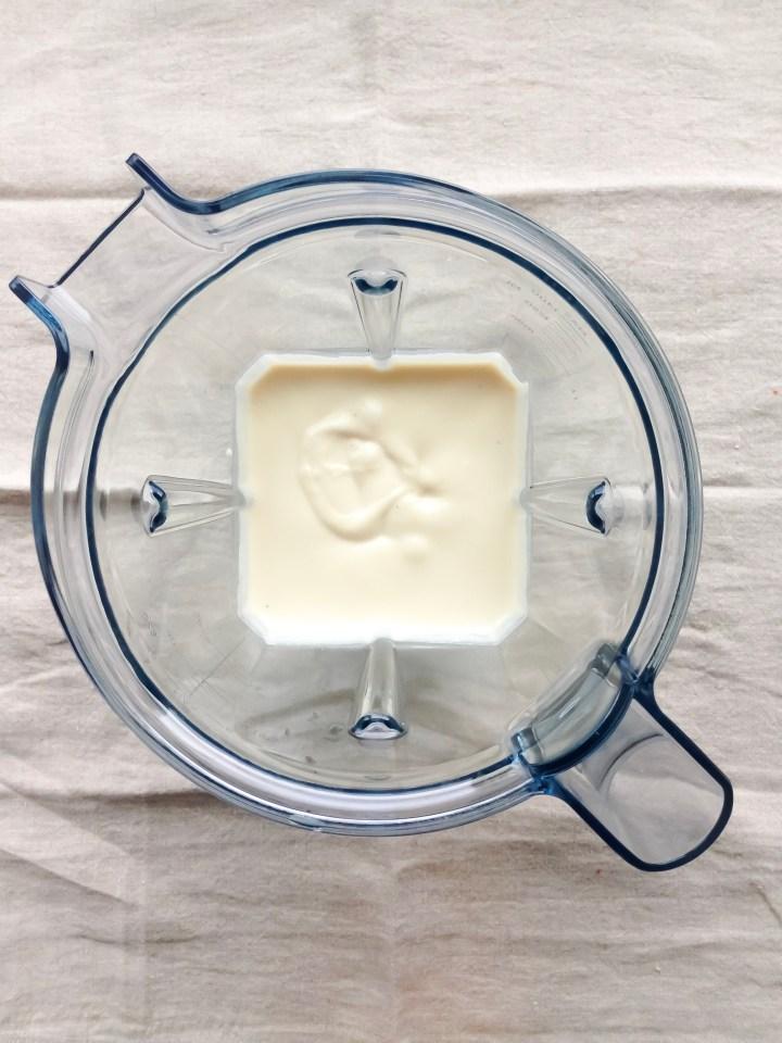cashew buttercream