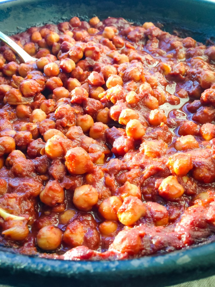 barbecue chickpeas
