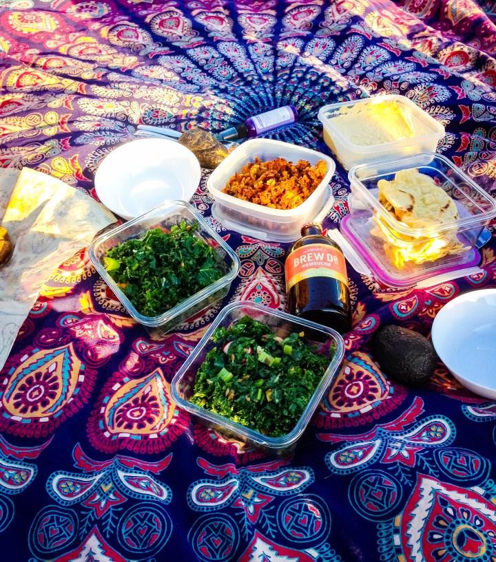 vegan zero waste picnic