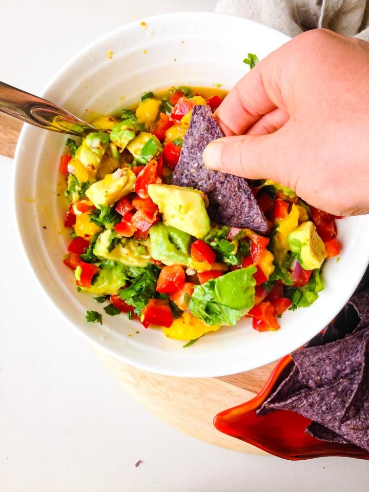 The best mango avocado salsa
