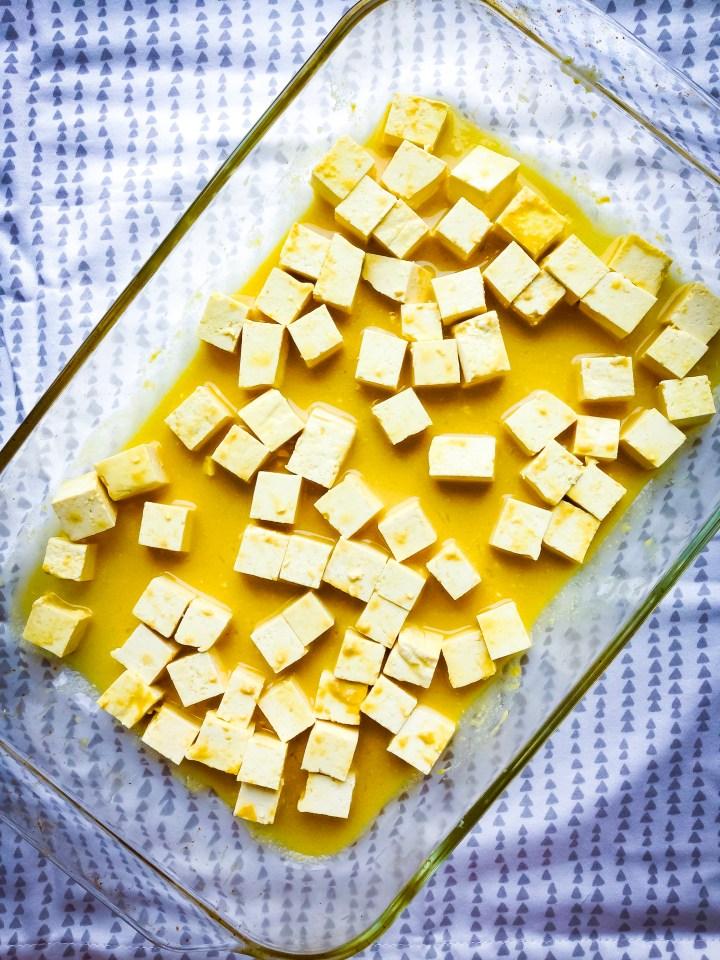 homemade tofu feta recipe