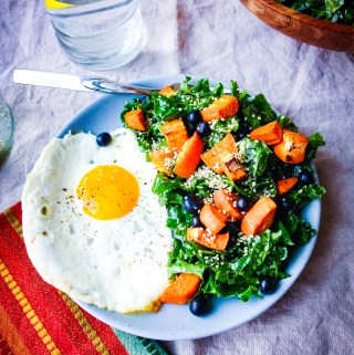 savory breakfast salad recipe