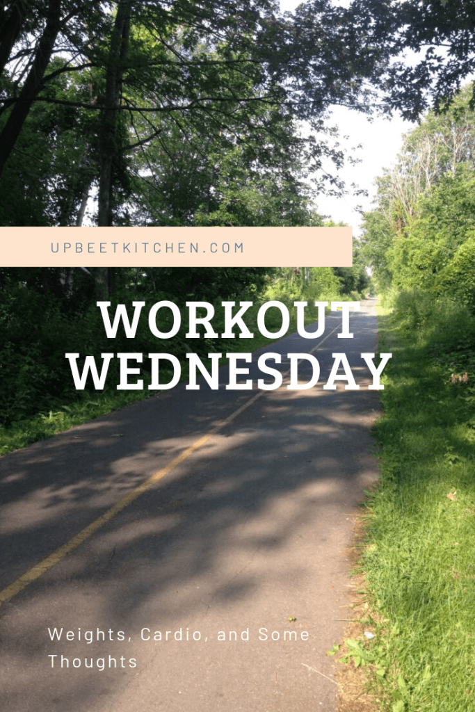 Workout Wednesday // Weights, Cardio, and Thoughts on Fitness Routines and Changing Things Up