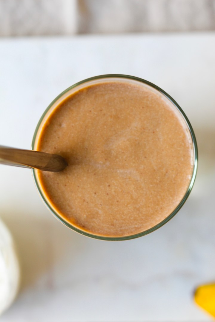 Espresso, Maca, and Almond Butter Smoothie