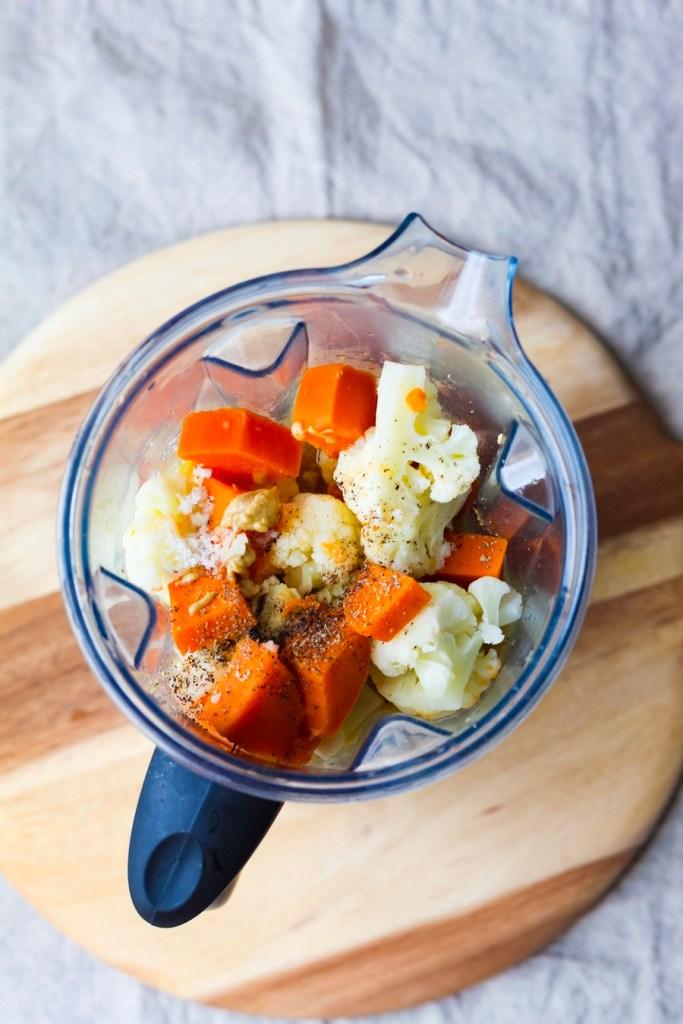 Nut-Free Vegan Mac and Cheese Ingredients | UpBeet Kitchen