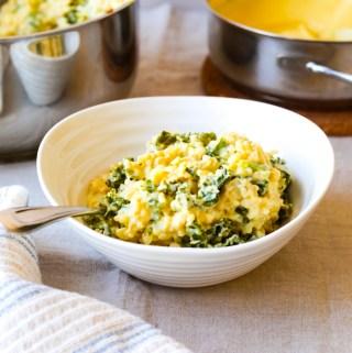 Vegan Pumpkin Alfredo Rice Recipe