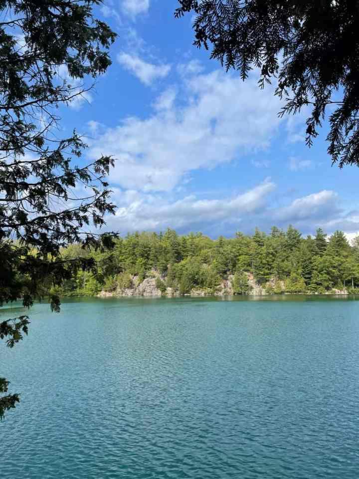 Pink Lake in Gatineau Park