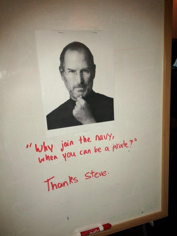 Gangplank Tribute to Steve Jobs