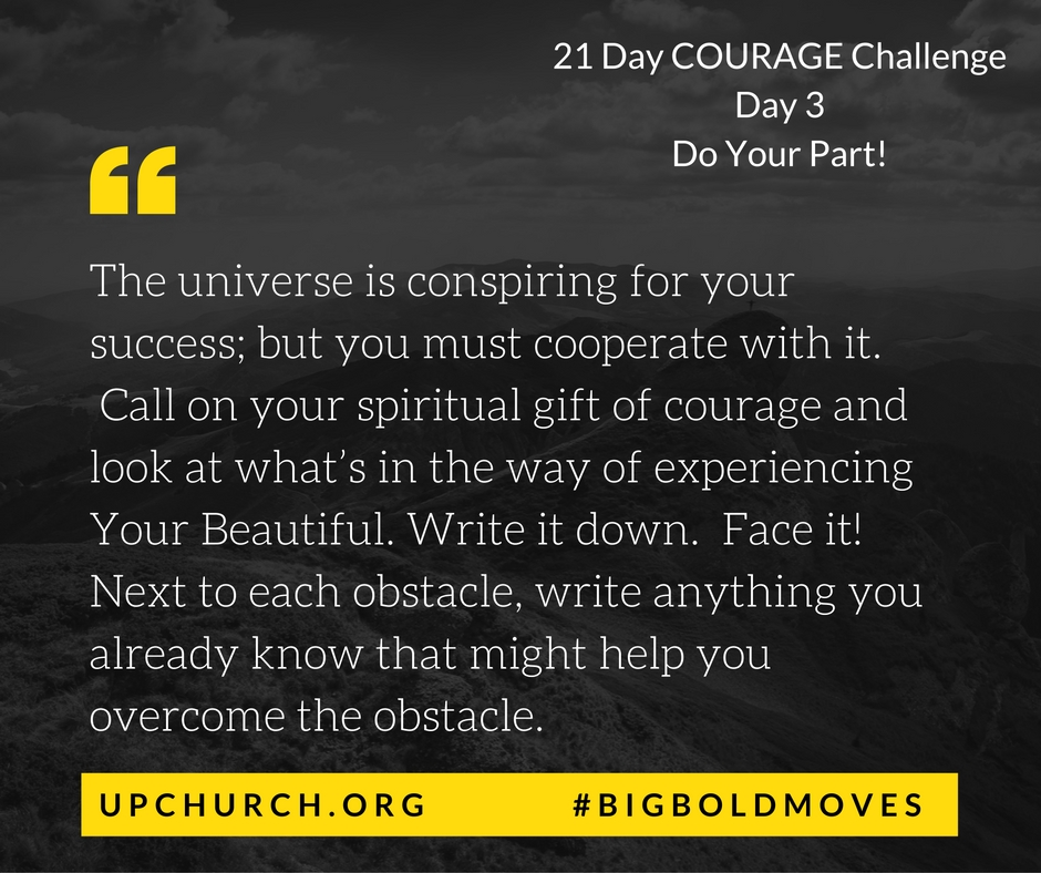 21 Day Courage Challenge | Day 3 Motivation