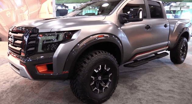2021 Nissan Titan Warrior Price, Engine and Powertrain