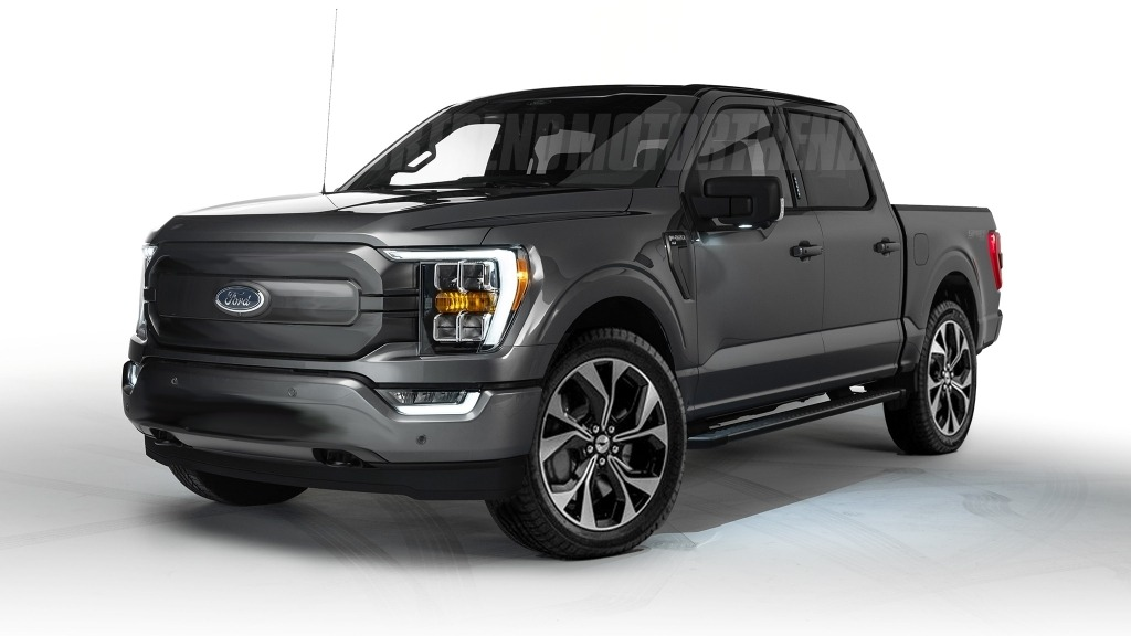 2022 Ford F150 Electric Exterior