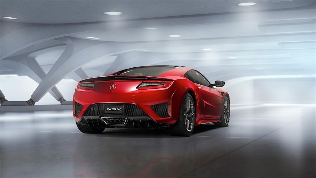 2022 Acura NSX Spy Shots
