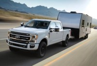 2022 Ford Super Duty Lineup Engine