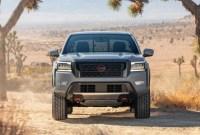 2023 Nissan Frontier Truck Spy Photos