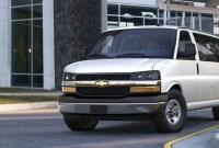 2022 Chevy Express Van Spy Photos