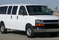 2022 Chevy Express Van Wallpaper