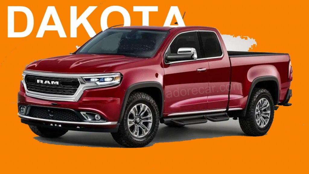 2022 Dodge Dakota Wallpaper