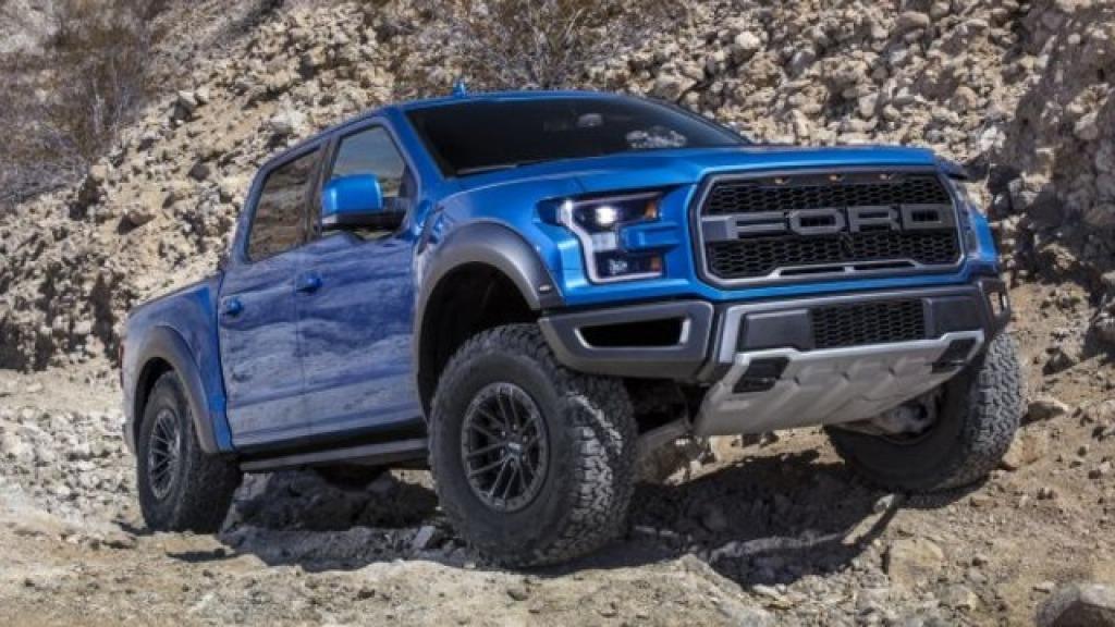 2022 Ford F150 Raptor Drivetrain