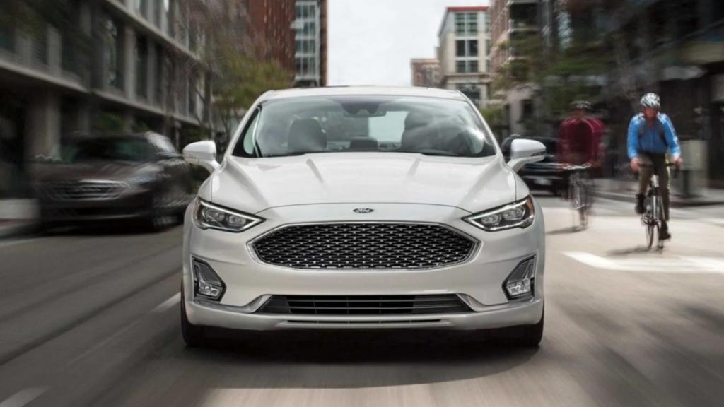 2022 Ford Fusion Active Spy Photos