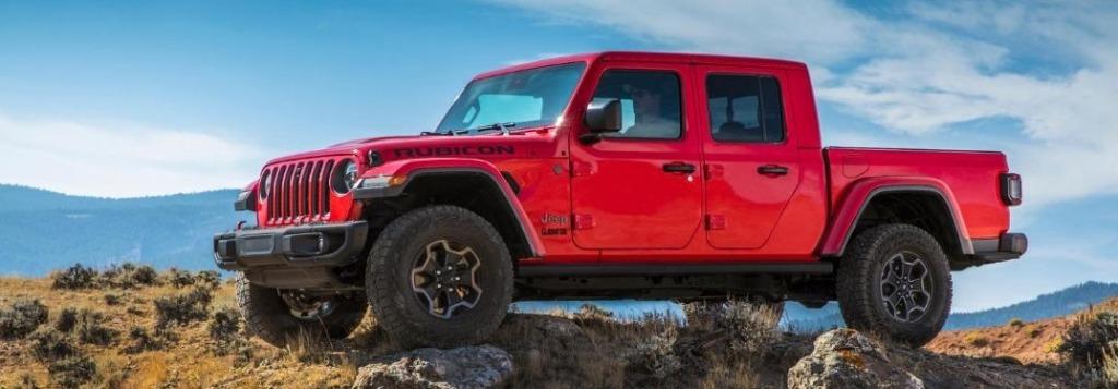2022 Jeep Gladiator EcoDiesel Spy Shots