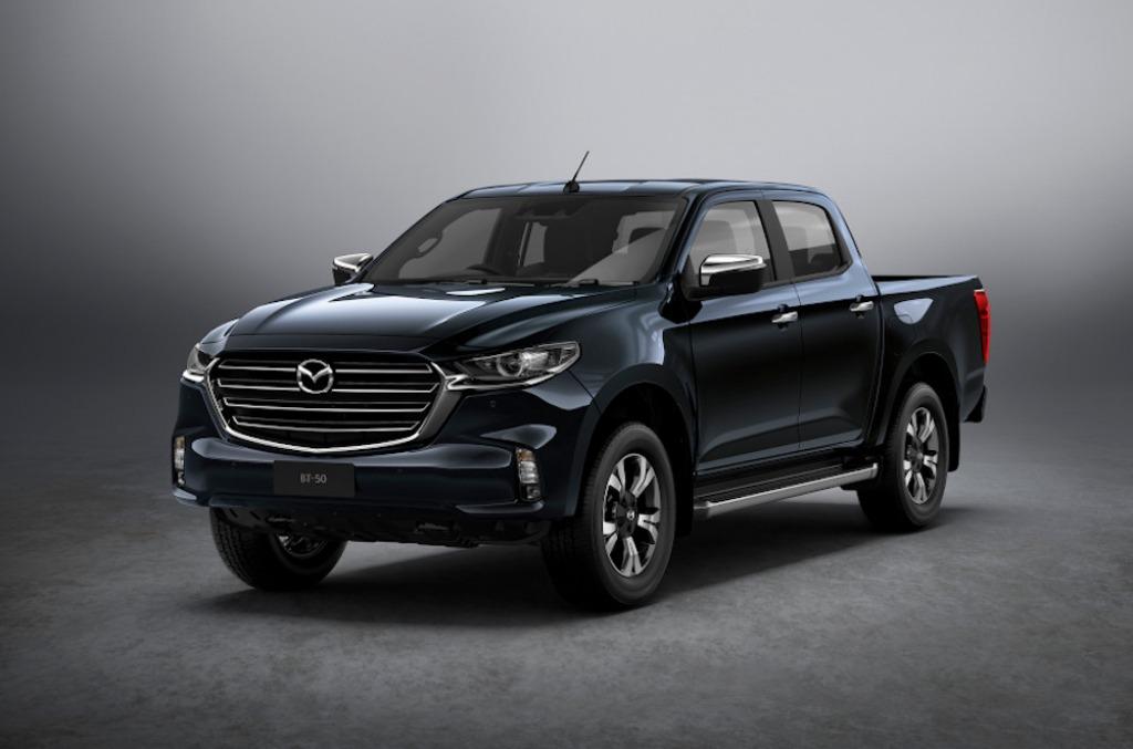 2022 Mazda BT50 Spy Shots