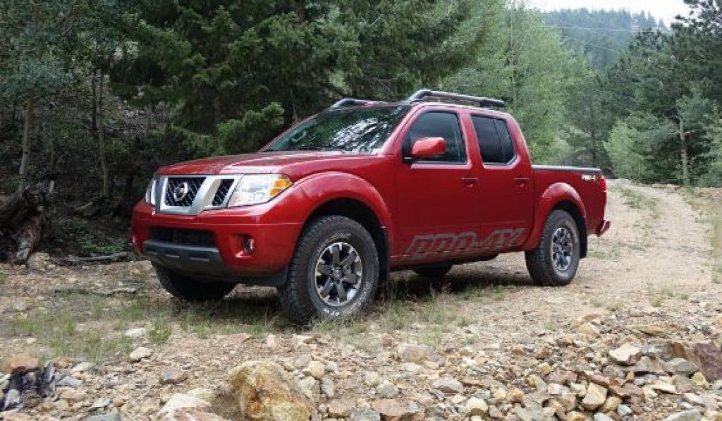 2022 Nissan Frontier Pro4X Interior