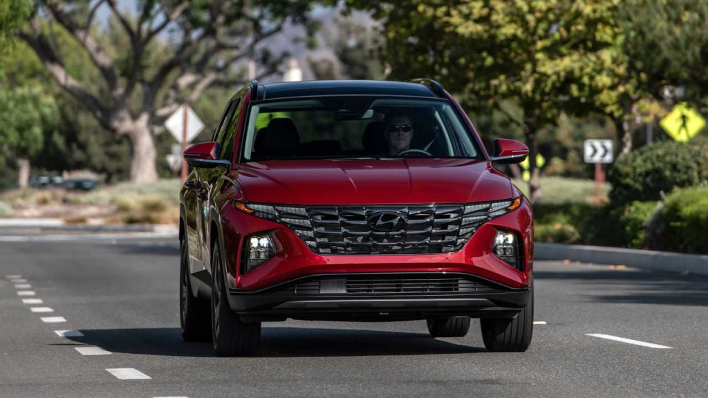 2023 Hyundai Tucson Spy Shots