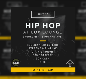 Upcoming hip hop event lox lounge