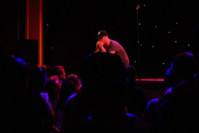 OnCue performing in Connecticut at Infinity Music Hall 2015