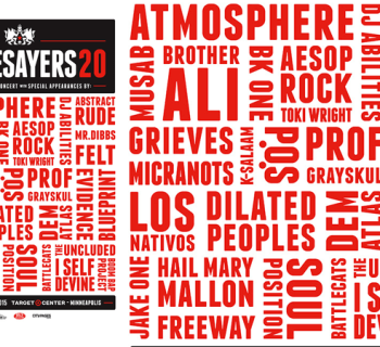 [Event] Rhymesayers 20th Anniversary Concert