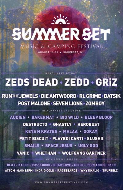 Summer Set Music Festival Announces Lineup: Run the Jewels Leads the Hip Hop Lineup