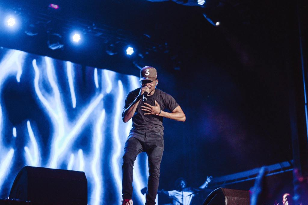 Chance the Rapper Eaux Claires Music Festival