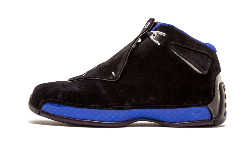 Air Jordan 18 Black Sport Royal with comfort contemporary touch