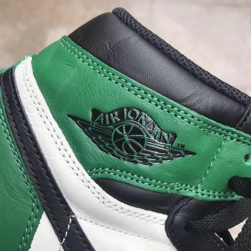 Air Jordan 1 Pine Green with high quality materials