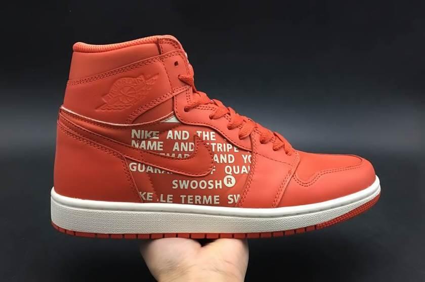 Air Jordan 1 Swoosh with premium quality manufacturing