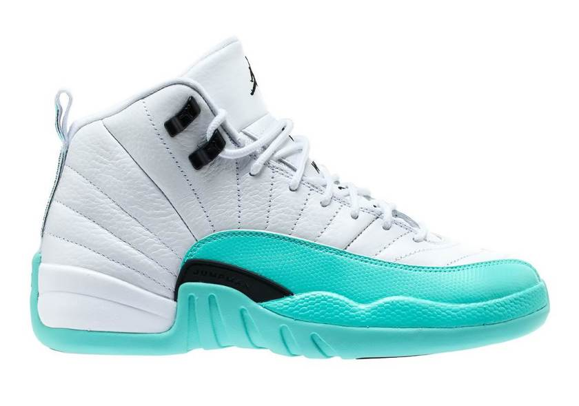 Air Jordan 12 GS Light Aqua with reasonable price