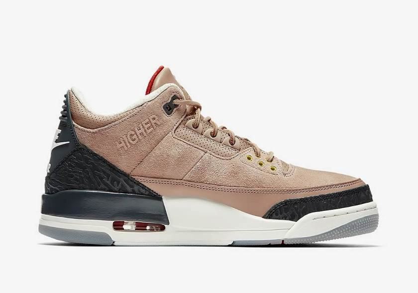 Air Jordan 3 JTH Bio Beige with Comfort style